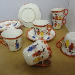 Earlly Japanese Coffee Set