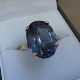 Ring - 9ct gold Alexandrite