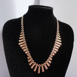 Necklace 9ct yellow gold 1960's