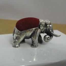 Sterling Silver Pin cushion - Elephant