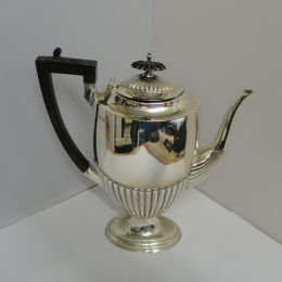 Silver Coffee Pot - London 1932