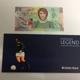 George Best   �5   Note - Ulster Bank