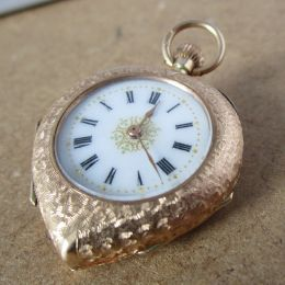 Ladies 12ct Gold Fob Watch - 1908