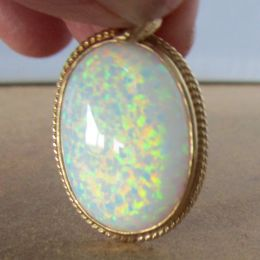 Pendant 9ct Gold - Opal