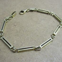14ct Gold Fancy Link Bracelet
