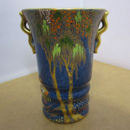 Carltonware Vase - Stork and Tree