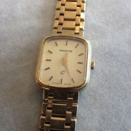 Ladies 9ct Gold Watch - Marvin