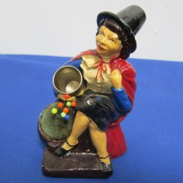 Vintage Pin Cushion Lady Figurine
