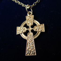 Necklace 9ct Gold - Celtic Cross