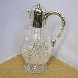 Claret Jug - Crystal and Silver