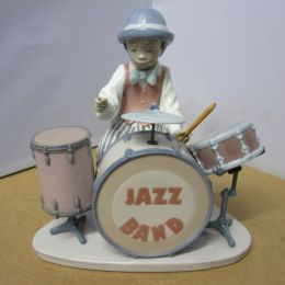 Lladro Jazz Drums