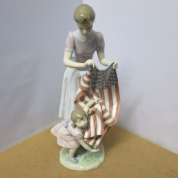 Lladro Fourth of July