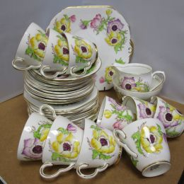 Part Tea Set - Stanley Fine Bone China