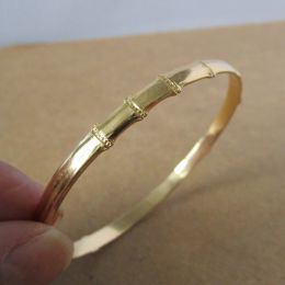 Slave Bangle - 18ct Gold