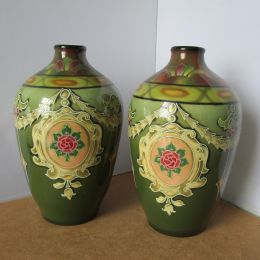Art Nouveau Vases - Royal Bonn Factory