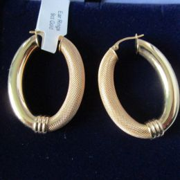 Ear Rings 9ct Gold Loops