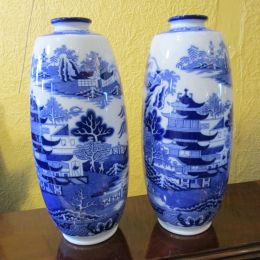 Pair of Minton Vases c.1930