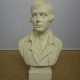 Parian Bust - Robert Burns