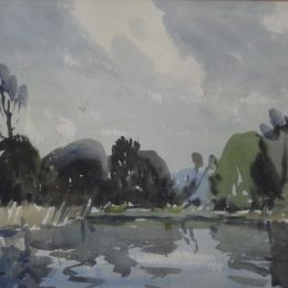 Wilfred Haughton  -  'River Reflections'.