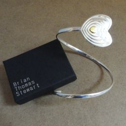 Designer Silver / Gold Bangle