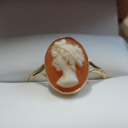 Ring - 9ct Gold - Cameo